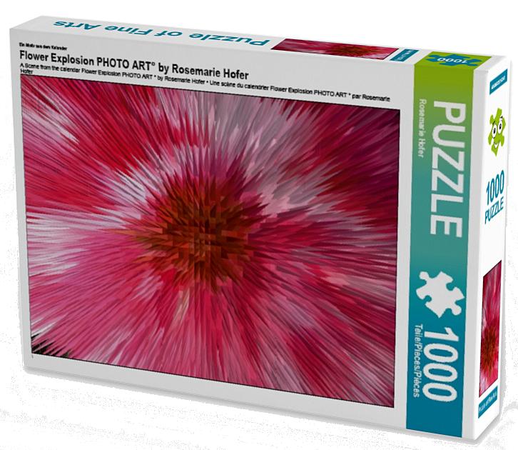 Ein Motiv aus dem Kalender Flower Explosion PHOTO ART° by Rosemarie Hofer 1000 Teile Puzzle hoch  •Author: Rosemarie Hofer • 1000 Teile Highend Puzzle •Für Kinder ab 14 geeignet Made in EU  ASINB01LF0ZV6Q