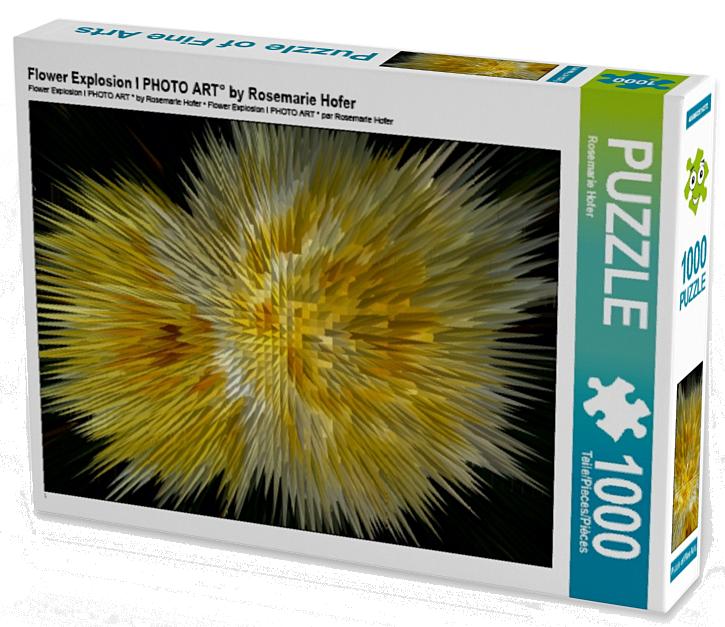 Flower Explosion I PHOTO ART° by Rosemarie Hofer 1000 Teile Puzzle hoch (CALVENDO Kunst)  •Author: Rosemarie Hofer • 1000 Teile Highend Puzzle •Für Kinder ab 14 geeignet Made in EU  ASINB01LF0UA7Q